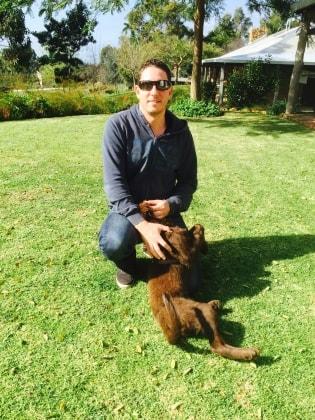 Daniel in Perth back image