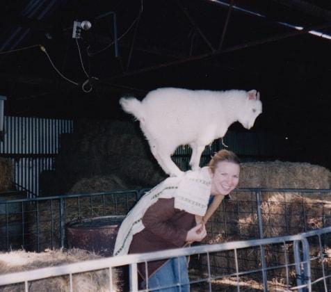 Tanya in Fremantle back image