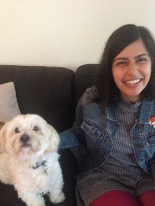 Tanya in Paddington back image