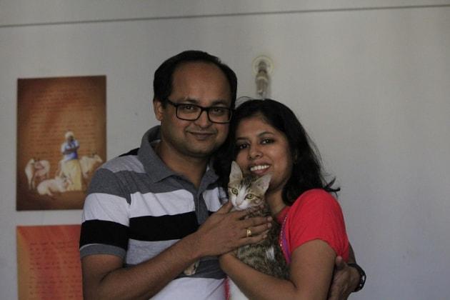 Raghavendra in Singapore back image
