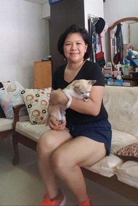 Aubrey / Adrian in Singapore back image