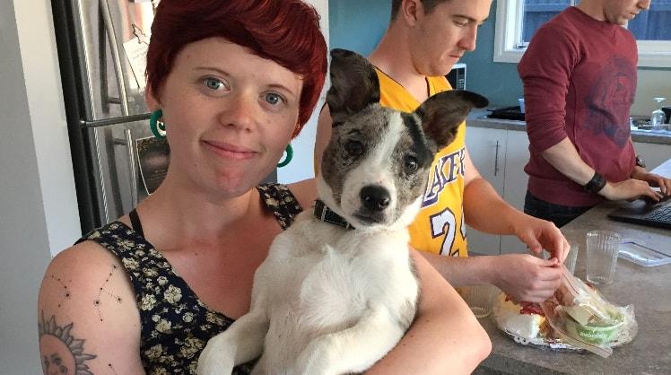 Bridget in Adelaide back image