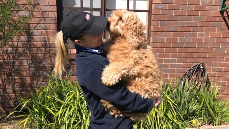 Tess in Bendigo back image