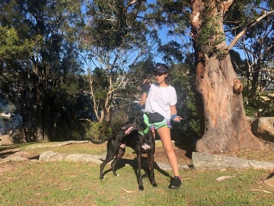 Antonia in Sydney back image
