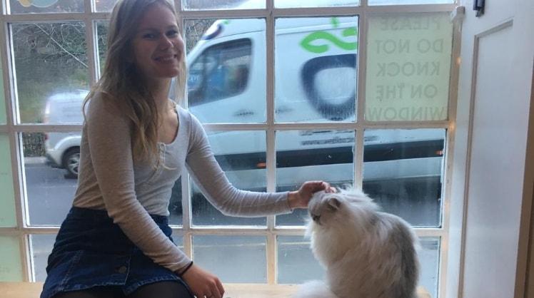 Rachelle in Groningen back image