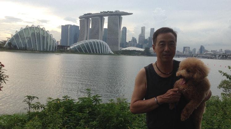 Tony in Singapore back image