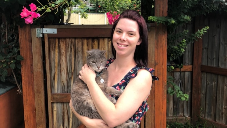 Natalie in Corinda back image