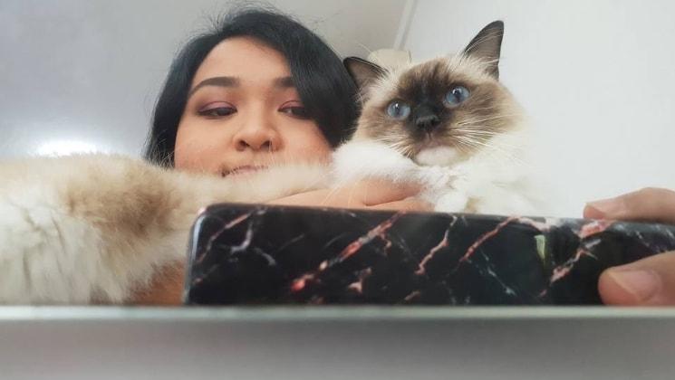 Natasha in Singapore back image