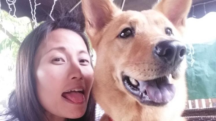 Bonnie in Hong kong back image