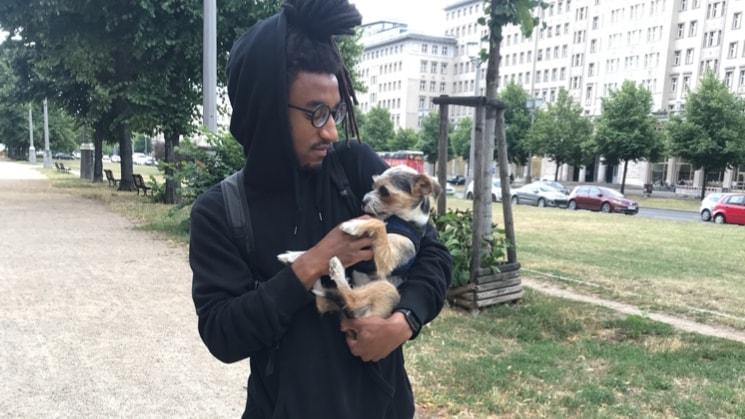 Khari in Berlin back image